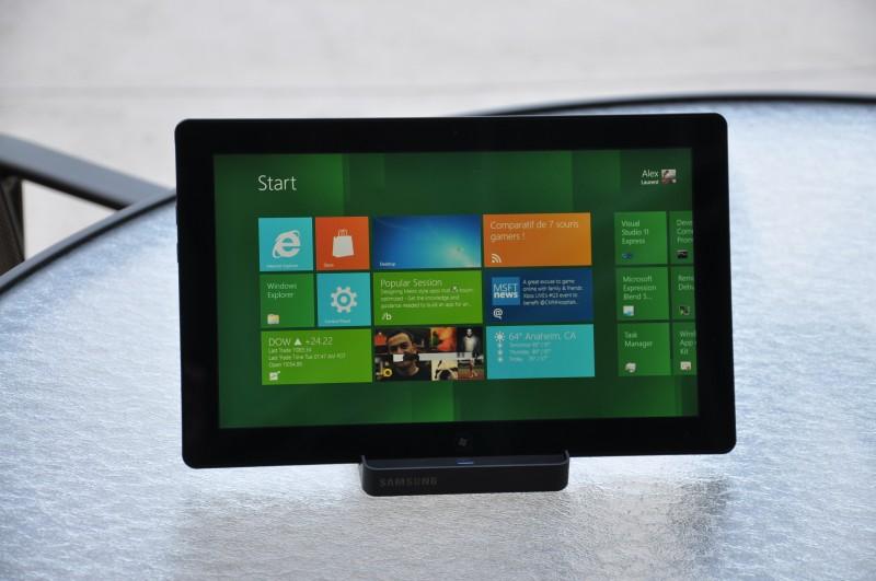 samsung premier sur les tablettes windows 8 actualit s actualit s et. Black Bedroom Furniture Sets. Home Design Ideas