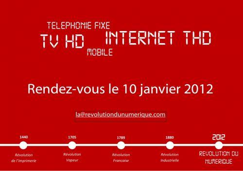La révolution du numérique