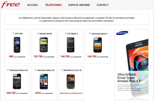 Boutique Free Mobile