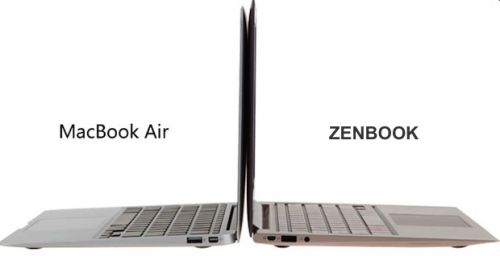 Apple MacBook Air / Asus Zenbook