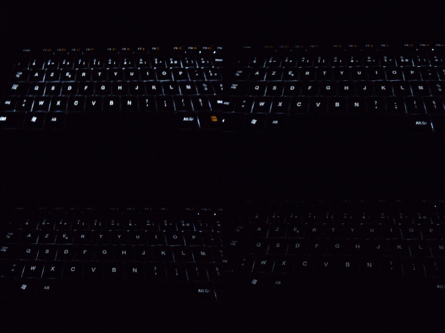 Test du clavier logitech wireless illuminated keyboard - Apporter lumiere piece sombre ...