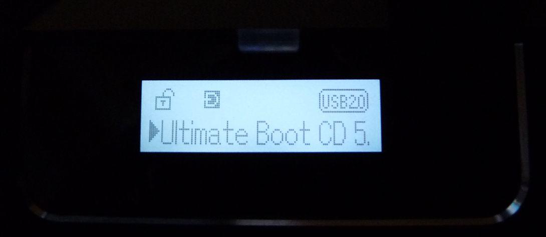 Zalman ZM-VE300 : écran