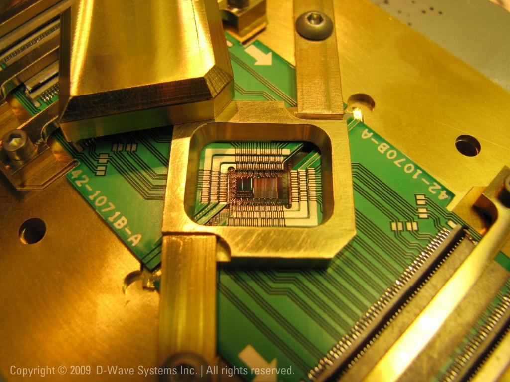 Le processeur Rainier C4 de D-Wave