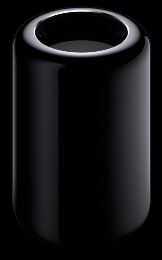 Le nouveau Mac Pro, vu de l'extérieur