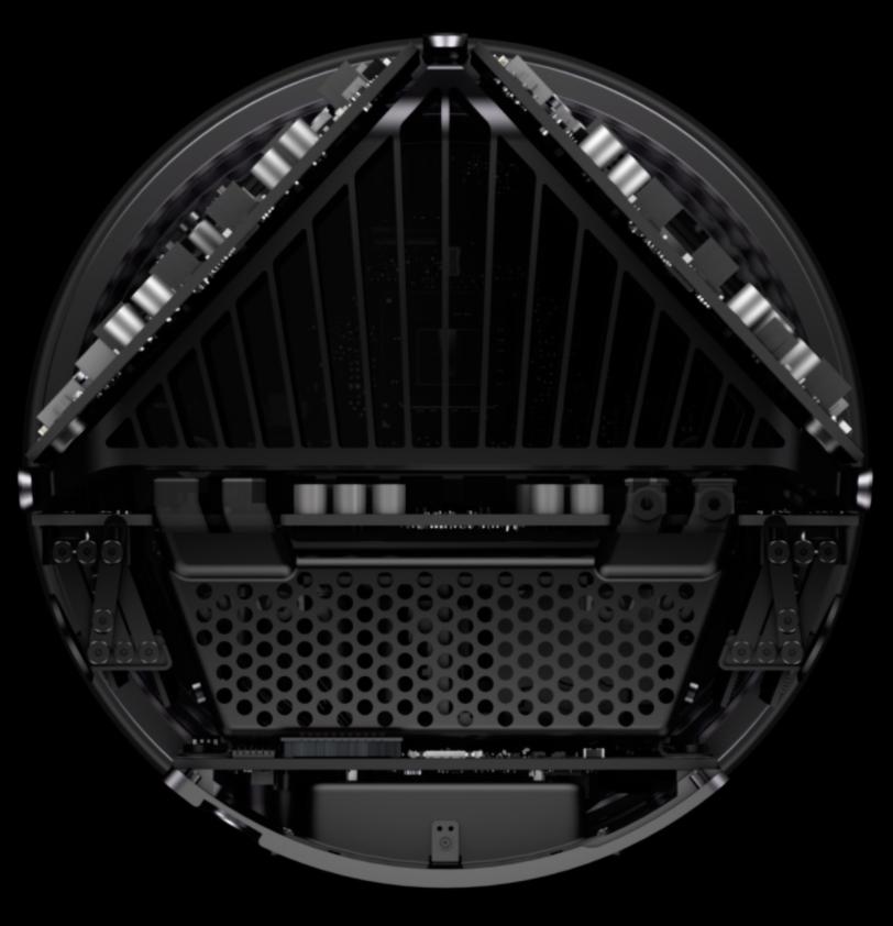 Le radiateur du nouveau Mac Pro