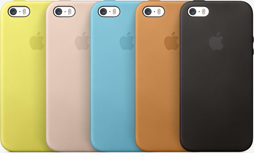 Les coques en cuir pour l'iPhone 5S