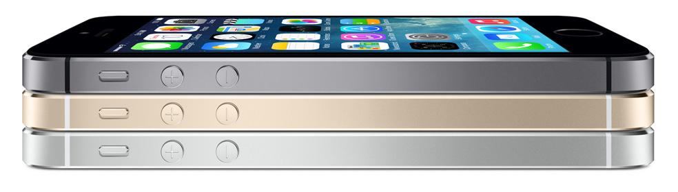 Les couleurs de l'iPhone 5S