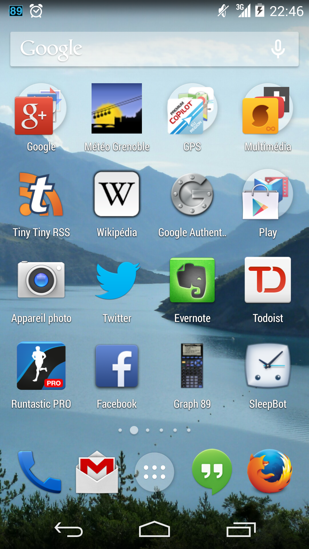 Launcher d'Android 4.4 KitKat
