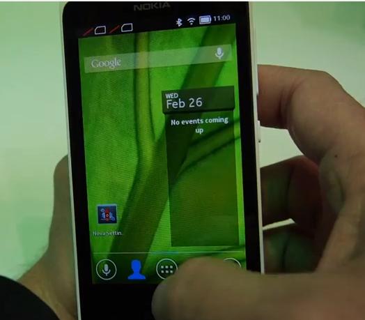 Novalauncher sur Nokia X