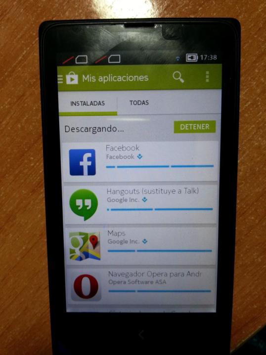 Le Play Store sur Nokia X