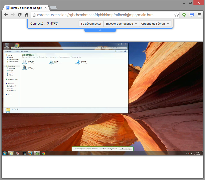Google se met au bureau distance infobidouille - Activer le bureau a distance windows 7 ...