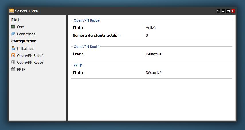 Serveur VPN de la Freebox