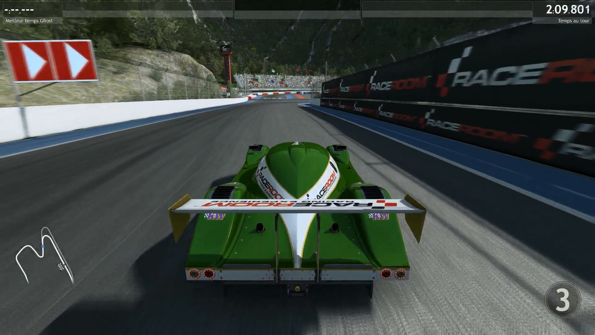 Image streamée sur le PC client