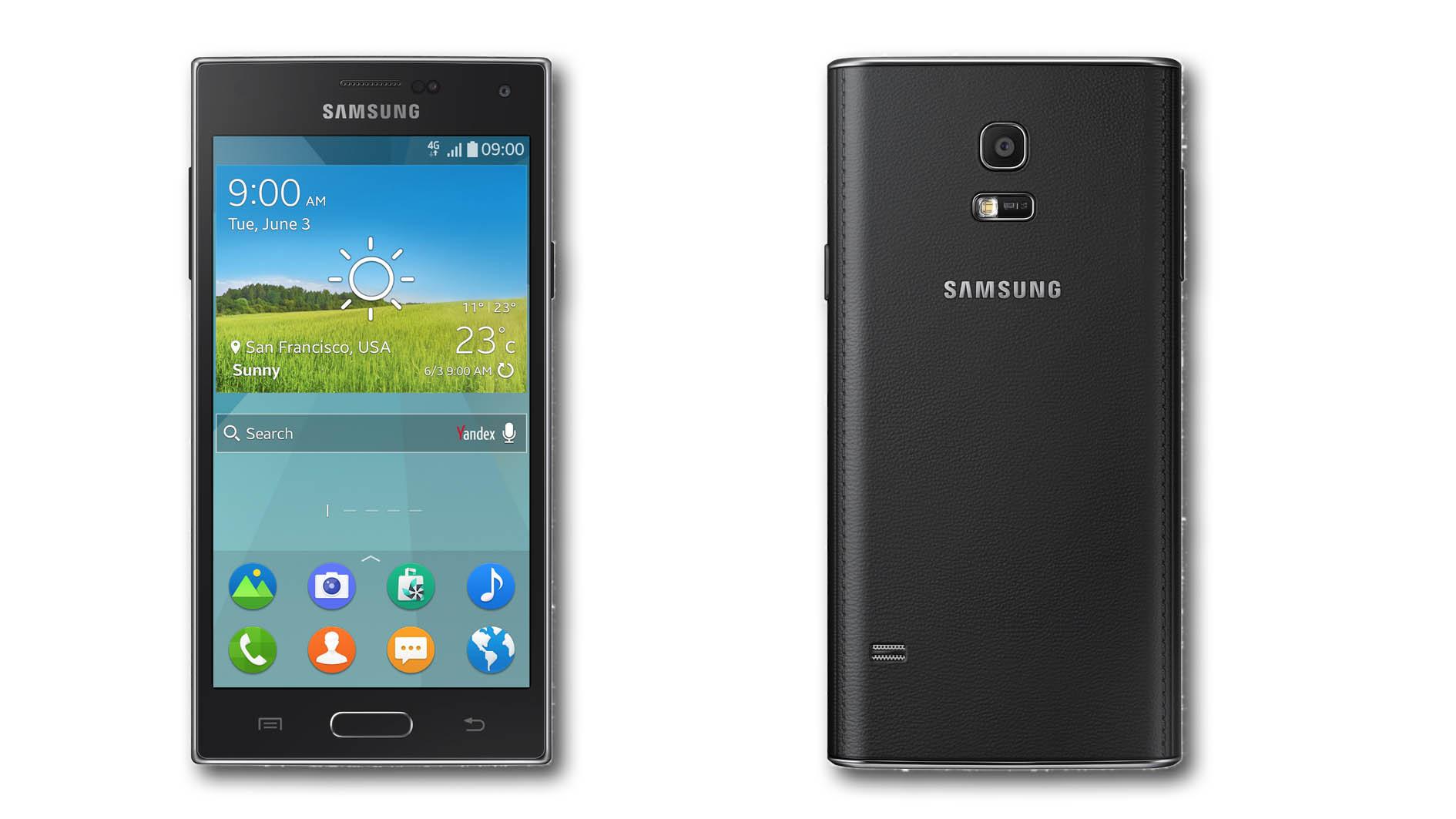 Le Samsung Z, sous Tizen