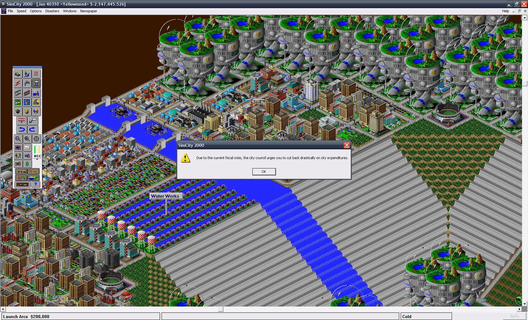 Un overflow dans Sim City