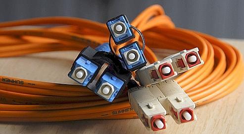 Câbles de fibre optique pour communications à très haut débit