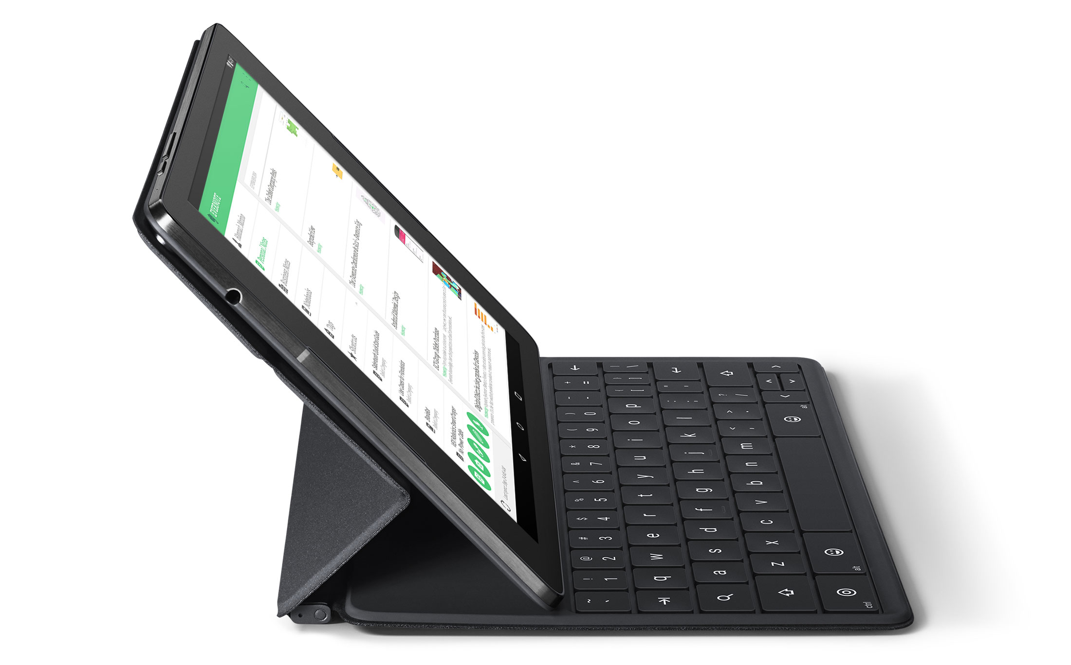 La Nexus 9 et son clavier optionnel