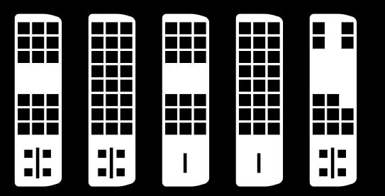 Les différentes variantes du DVI