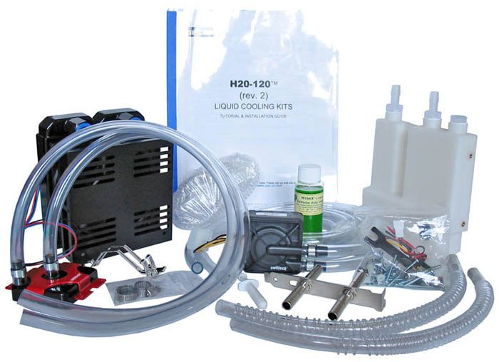 Un kit de watercooling