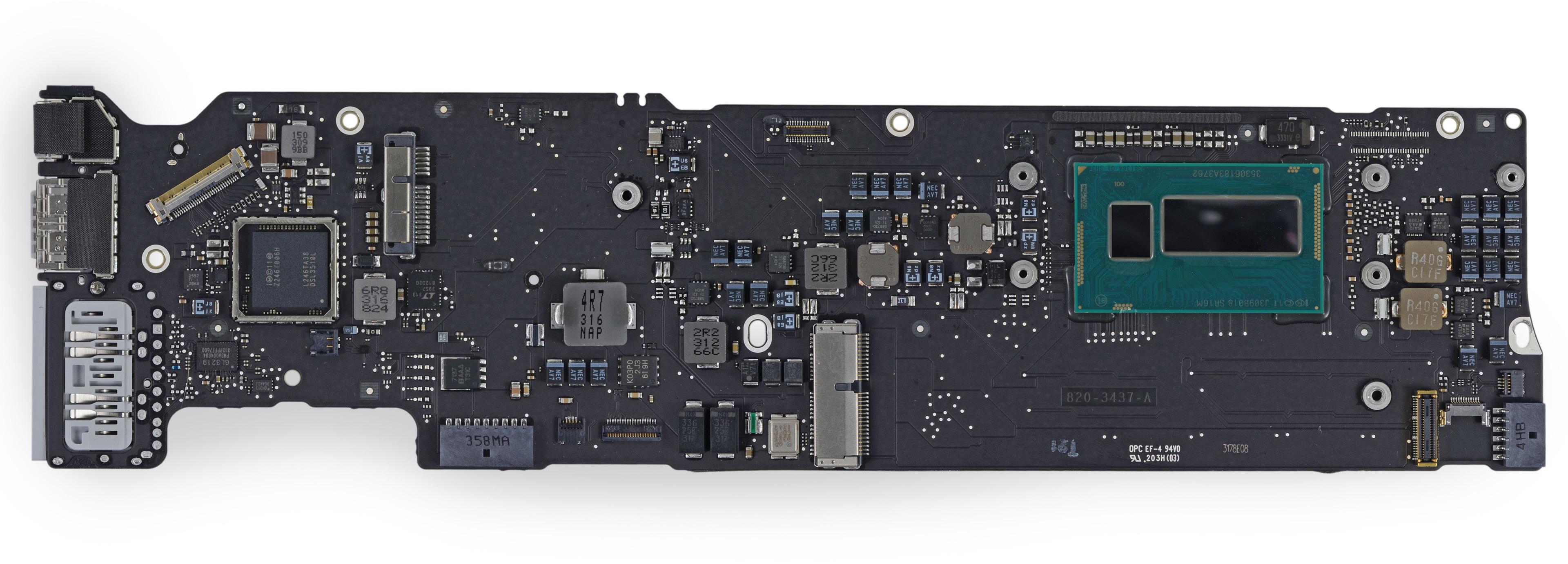 Une carte mère avec processeur Core i5 ULV intégrant le Southbridge dans le packaging du processeur