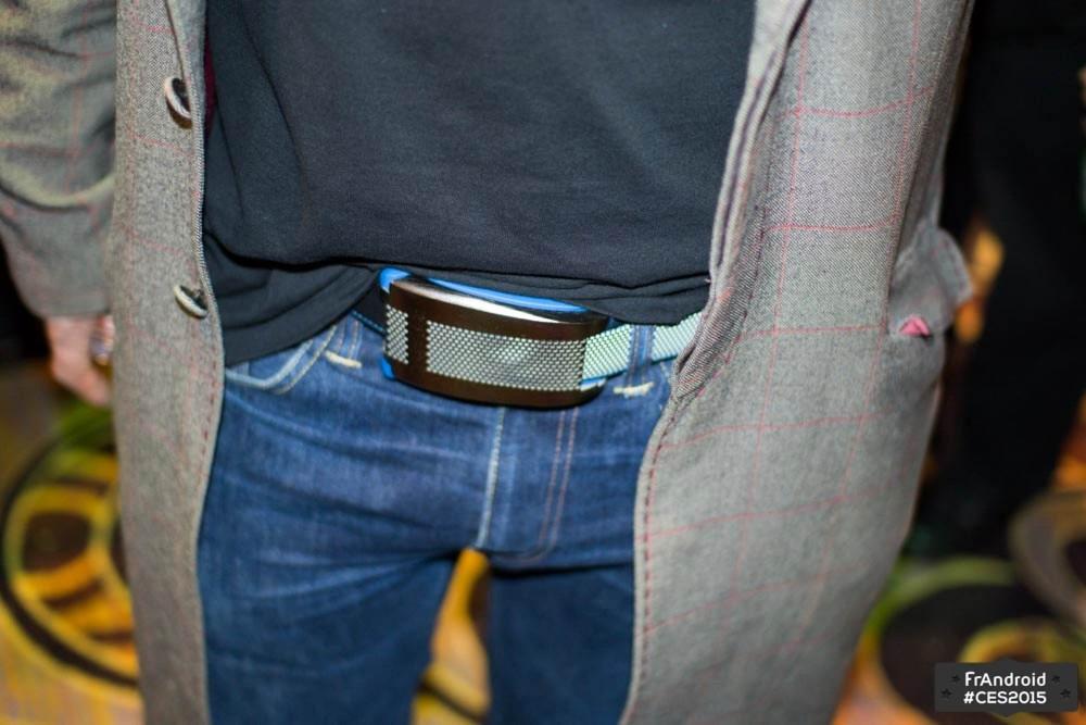 Belty, la ceinture connectée