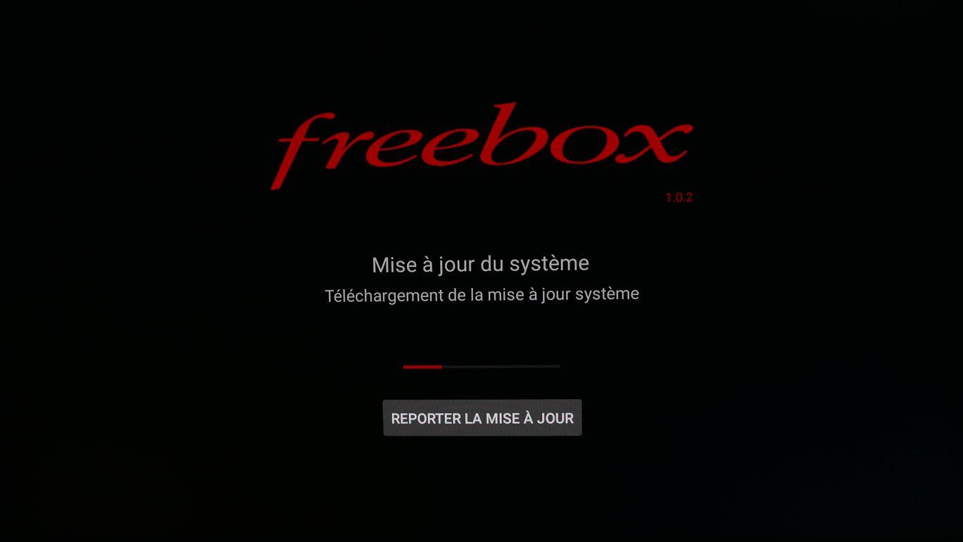 Mise à jour du Freebox Player