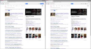 Résultats Google personnalisés