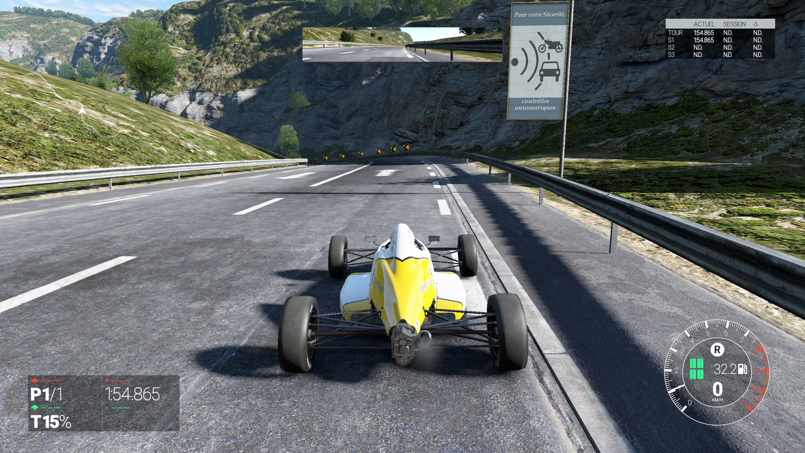 Circuit Côte d'Azur de Project CARS