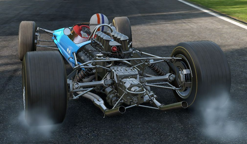 Lotus 49 dans Project CARS
