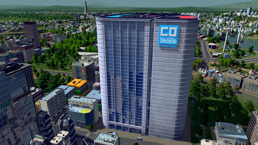 Cities : Skylines, le siège de Colossal Order