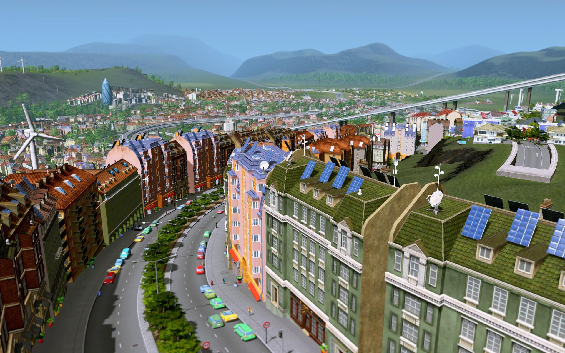 Thème européen de Cities : Skylines