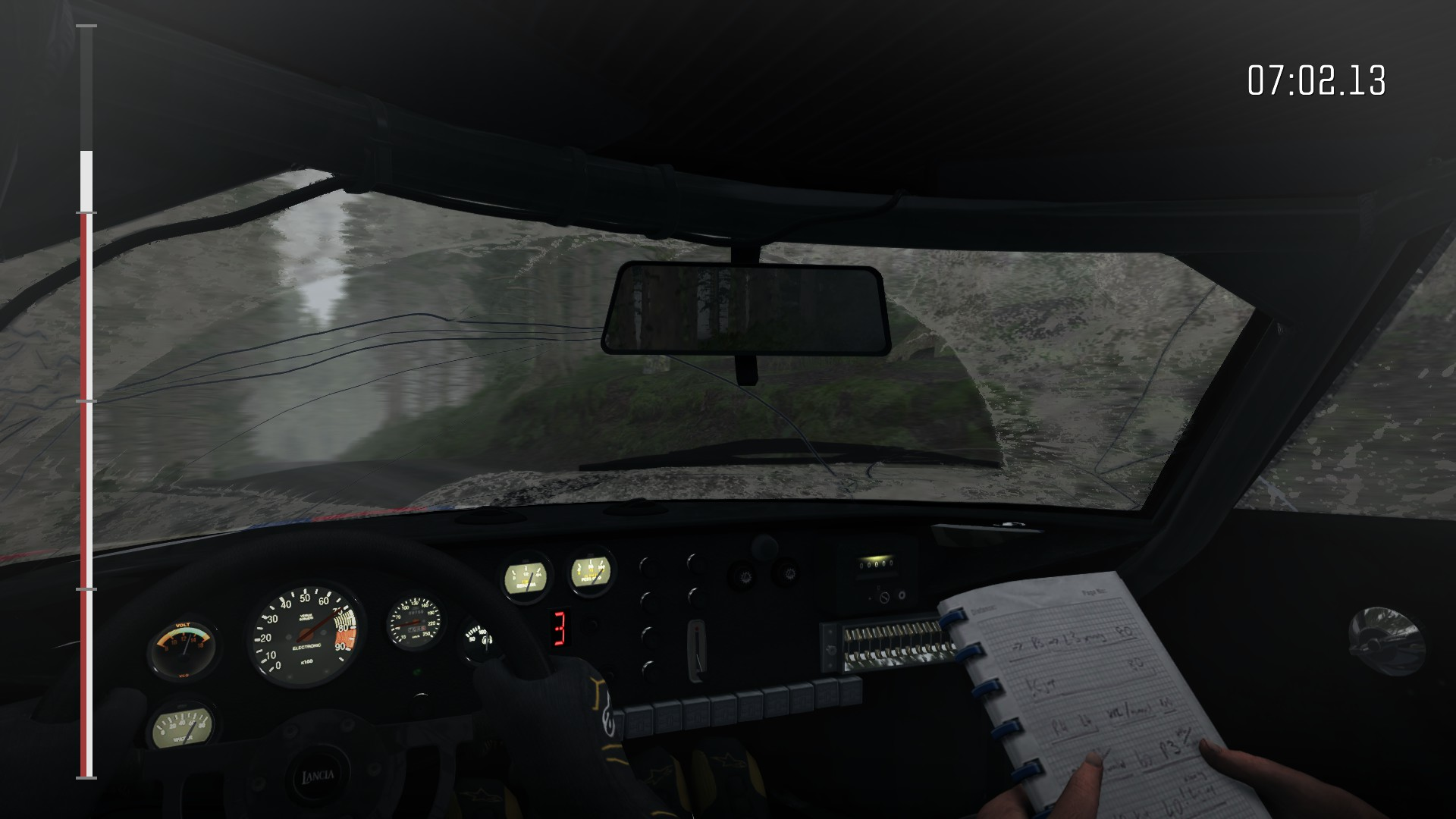 DiRT Rally : les cockpits parfaitement modélisé