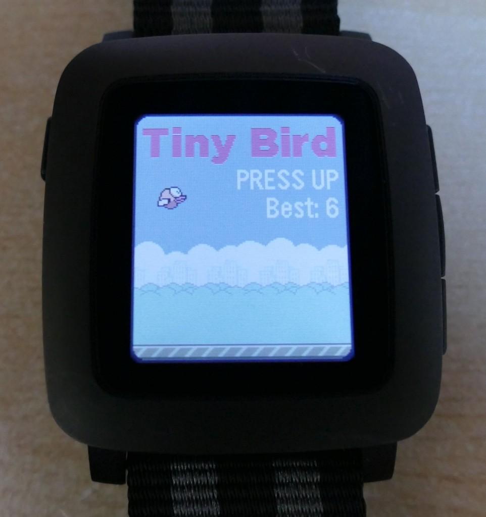 Pebble Time : Tiny Bird