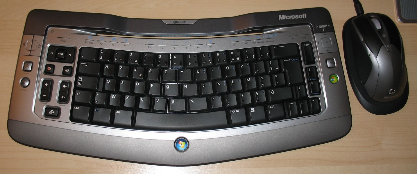 Microsoft Wireless Entertainement Desktop 7000