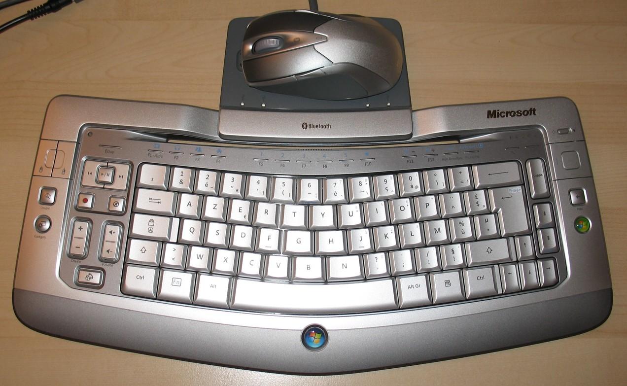 Microsoft Wireless Entertainement Desktop 8000
