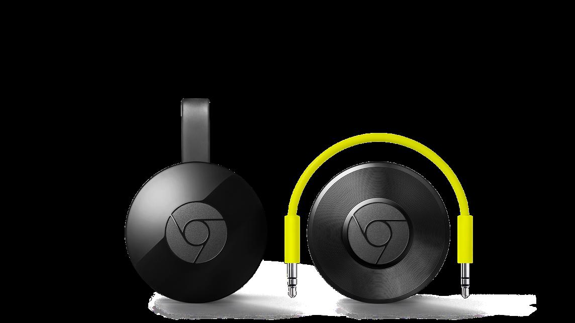 Les nouveaux Chromecast
