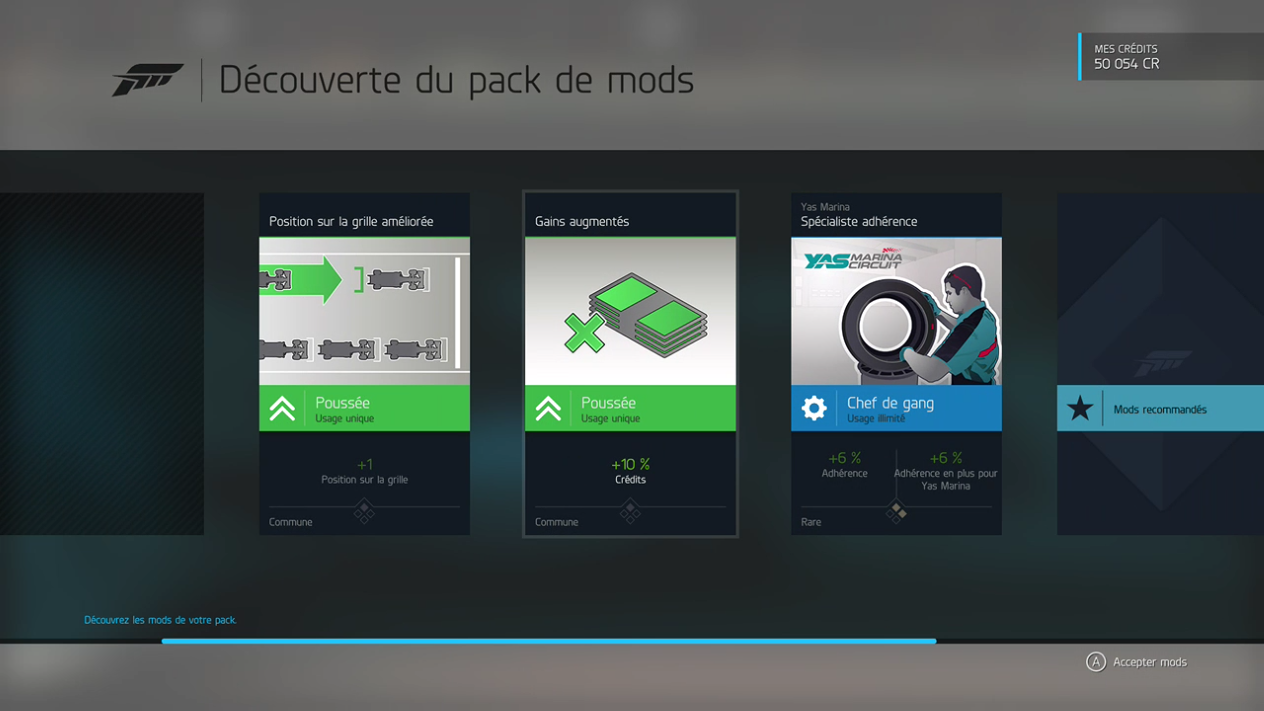 Forza 6 : les mods