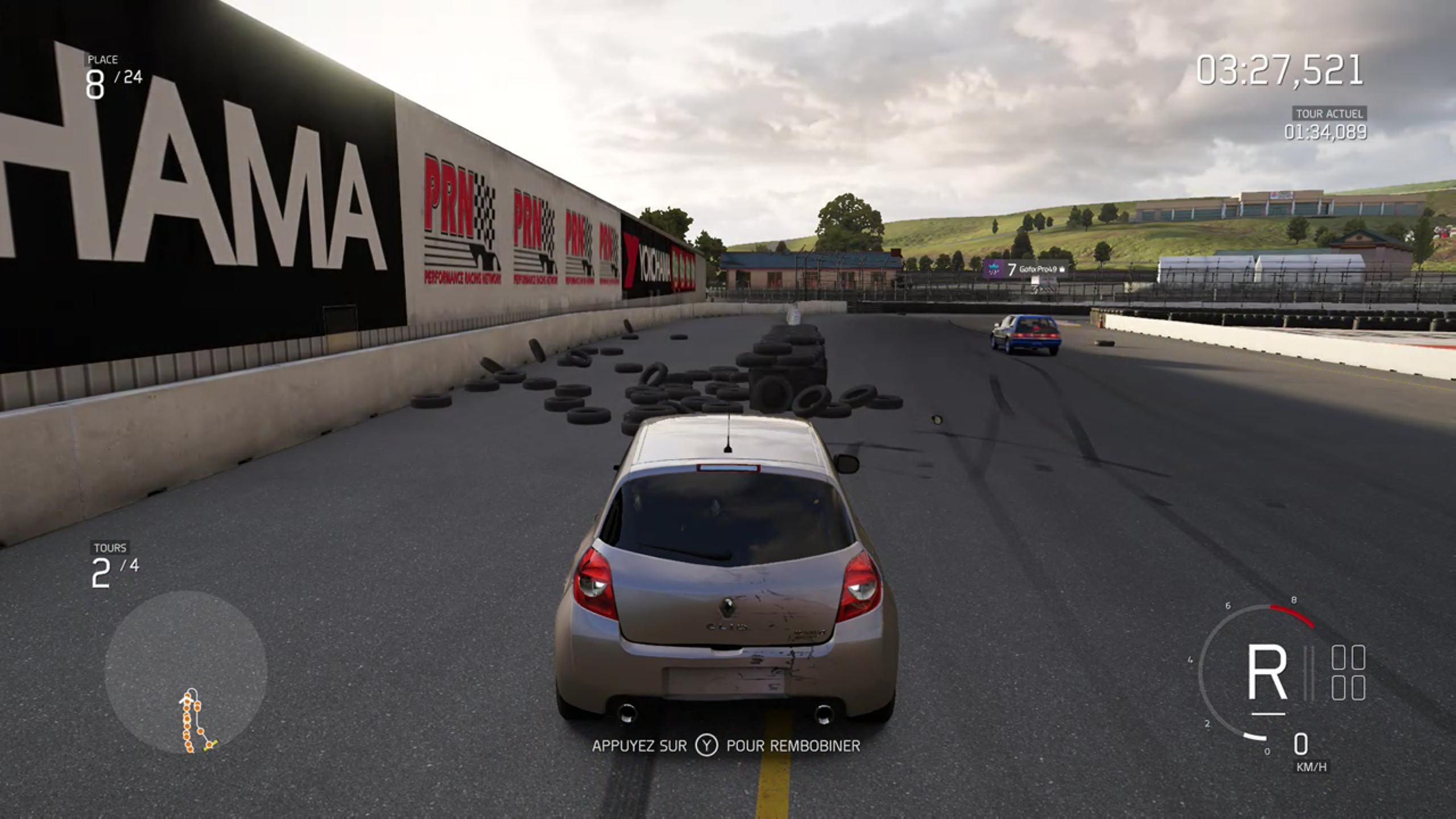Forza 6 : les murs de pneus