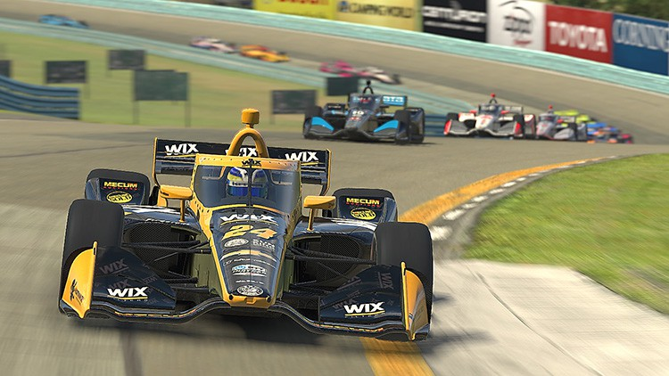 Indycar iRacing